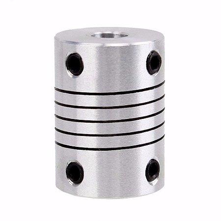 Acoplamento Flexível De Alumínio Para Motor de Passo 5X8mm