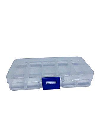 Caixa Plástica 10 Divisórias 13.2*6.8*2.3CM