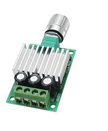 Controlador De Velocidade Motor Dc 6v 12v 24v 28v 3a Pwm