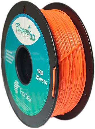 Filamento Pet-g 1,75 Mm 1kg - Laranja (Orange)