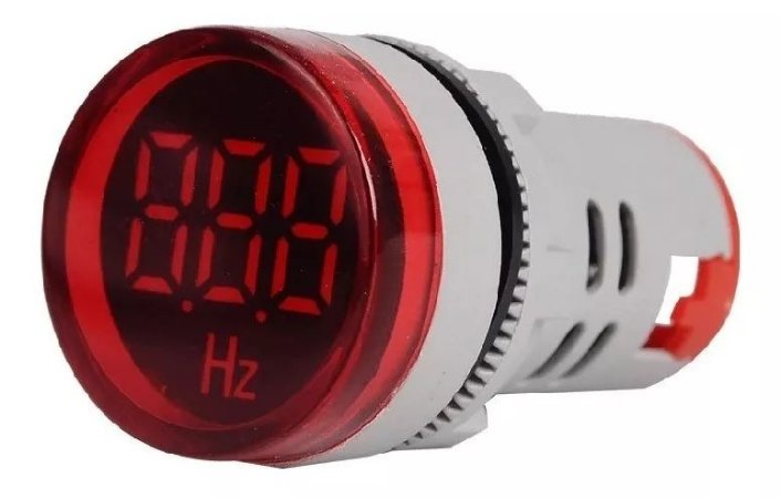 Frequencímetro Digital 20-75Hz 22mm