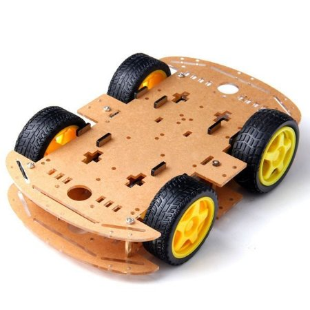 KIT CHASSI COM 4 RODAS 4WD