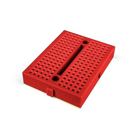 Mini Protoboard 170 Pontos Vermelha
