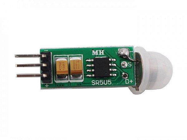 Mini Sensor De Movimento Presença Pir Hc-sr505 Para Arduino