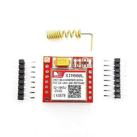 Módulo Gprs Gsm Sim800l Para Arduino