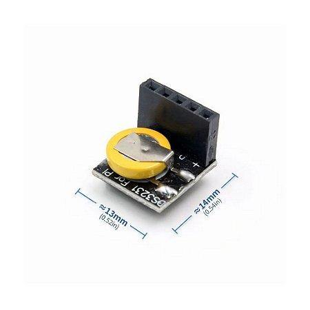 Módulo Relógio Tempo Real RTC DS3231 Com Bateria 3.3 5v Raspberry Pi