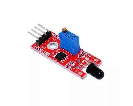 Módulo Sensor De Chama Fogo