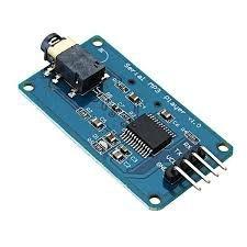 Módulo YX5300 Leitor De Cartão Com Saída De Áudio P2