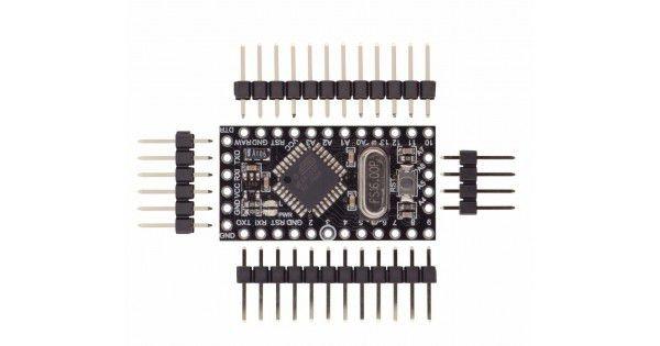 Placa Pro Mini Atmega168 Black