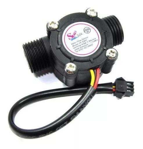 Sensor de Fluxo de Água YF-S201 1-30L/min Vazão