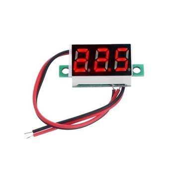 Display Voltímetro 2,5 A 32V DC 2 Fios