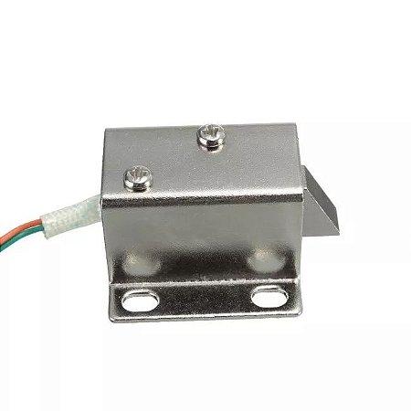 Mini Fechadura Solenóide Eletrônica 12v Para Arduino