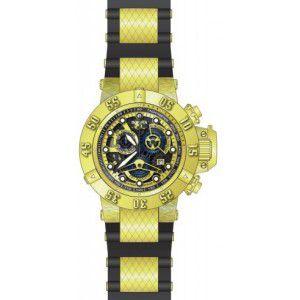 3d21f0bd2b9 Relógio Invicta 18526 Skeleton Subaqua Preto Original 039 - Espaço ...