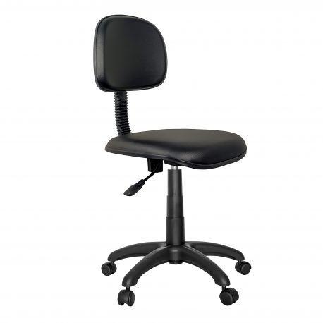 Cadeira Secretária Light para Escritório em Couro