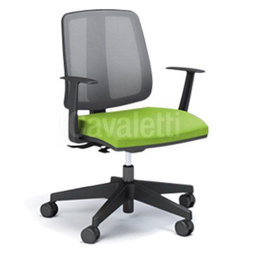 Cadeira Secretária Ergonômica Gerencial 43103 com Laudo NR17