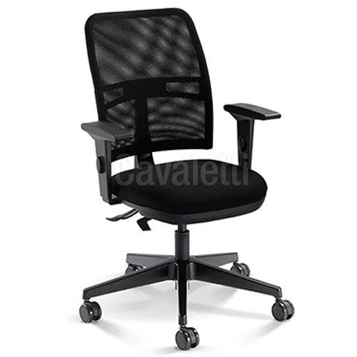 Cadeira Secretária Ergonômica Gerencial 16003 com Laudo NR17