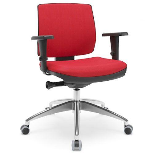 Cadeira Secretária Ergonômica Gerencial Brizza