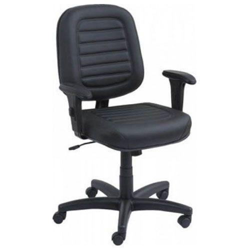 Poltrona Diretor Top com costura para escritório com base Relax