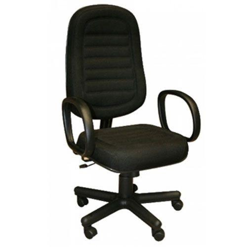 Poltrona Presidente Costurada para escritório com base Relax