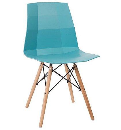 Cadeira Decorativa para Escritório ANM 6007 Azul ou Vermelha