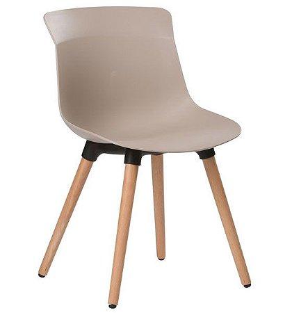 Cadeira Decorativa para Escritório ANM 1316 Pés em Madeira