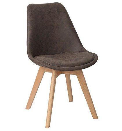 Cadeira Decorativa para Escritório ANM 8033 Caramelo ou Preto