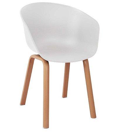Cadeira Decorativa para Escritório ANM 8095 Branco, Preto ou Vermelho