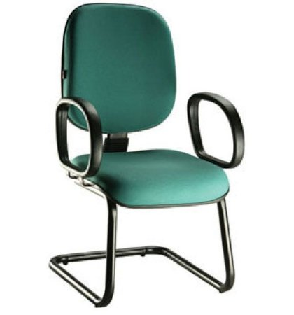 Cadeira Diretor Classic Fixa para Escritório - Várias Cores