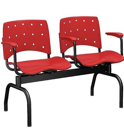 Cadeira Longarina Ergoplax 2,3,4 e 5 Lugares