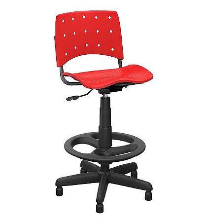 Cadeira alta para caixa em polipropileno Ergolplax