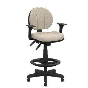 Cadeira Ergonômica NR17 Operativa alta para caixa