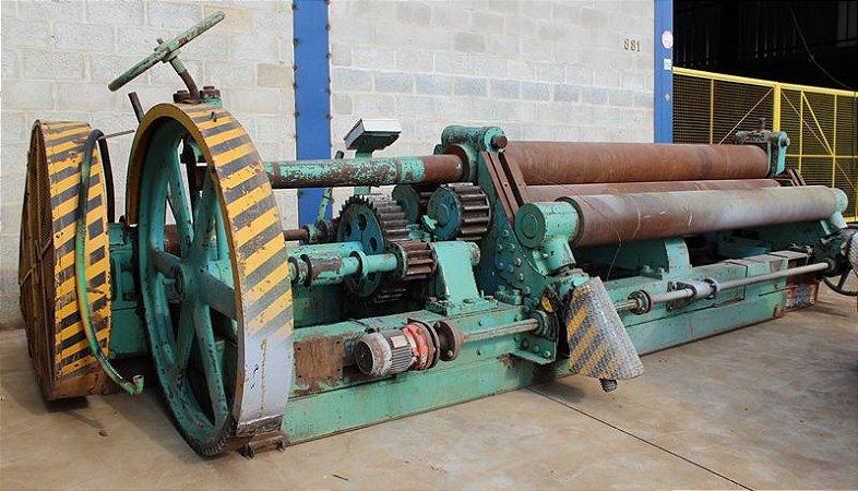 Calandra Mecânica 3000mm x 19 mm