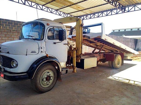 Caminhão 1113 Ano 1973 com Guincho e prancha (impecável) Oportunidade!