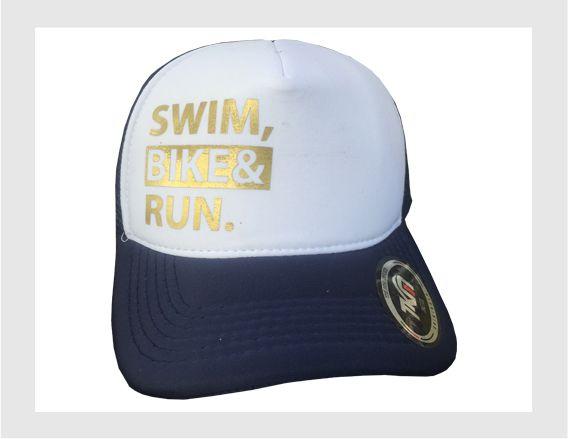 Boné   Swim - Bike - Run