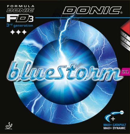 Borracha Donic - Bluestorm Z1 (Esponja Azul Hard)