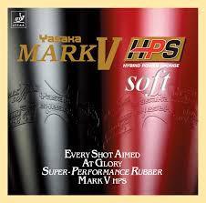Borracha Yasaka - Mark V HPS Soft