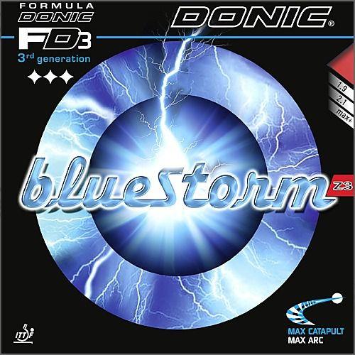 Borracha Donic - Bluestorm Z3  (Esponja Azul Soft)