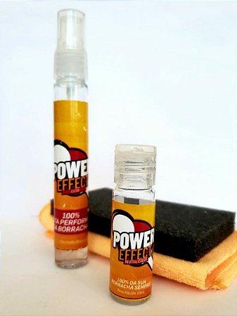 Power Effect - Revitalizador + Limpador Borrachas Tênis Mesa