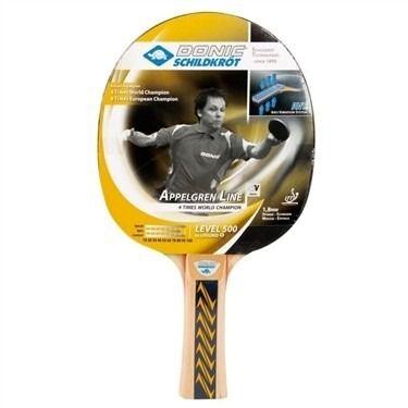 Raquete Clássica Tênis De Mesa - Donic Appelgren 500 Aprovado ITTF