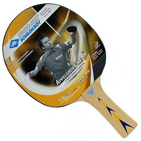 Raquete Clássica Ping Pong - Donic Appelgren 300 Profissional