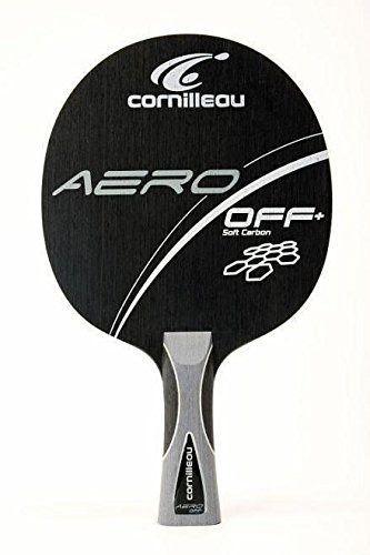 Raquete Clássica Tênis De Mesa - Cornilleau Aero Soft+ Carbon