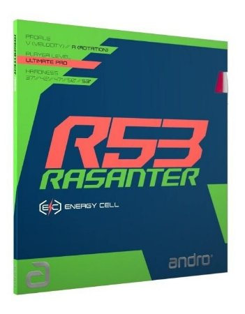Borracha Lançamento 2019 - Andro Rasanter R53 Tênis De Mesa