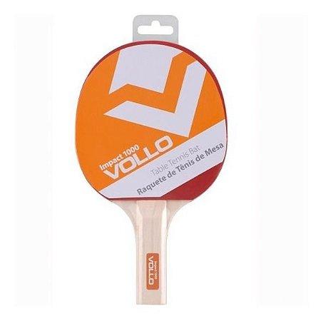 Raquete Ping Pong Tênis De Mesa Clássica - Vollo Impact 1000