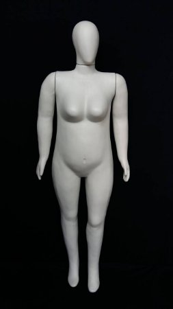 Manequim Feminino GG Branco