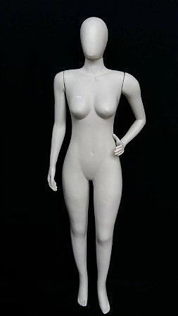 Manequim Feminino Pose 3 Braços Branco