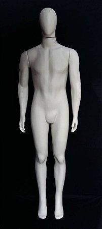 Manequim Masculino Reto Branco