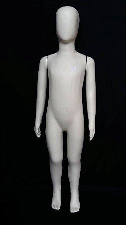 Manequim Unissex Infantil Branco