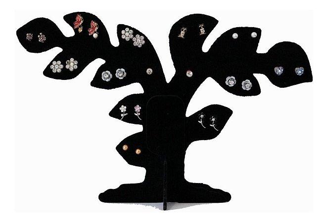 Expositor de Brinco Veludo Árvore Bonsai