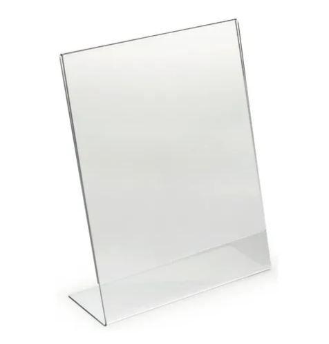 Porta Folheto Acrílico Inclinado 10x15cm