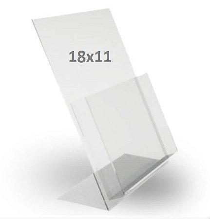 Porta Folder Acrílico - tam. P